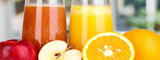 Sirupy, ovocné šťávy, mošty